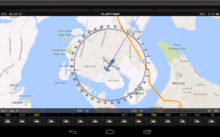 FlightMap 2.0 Released to the Play Store